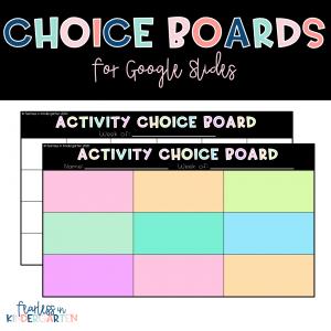 Google-Slides-Choice-Boards
