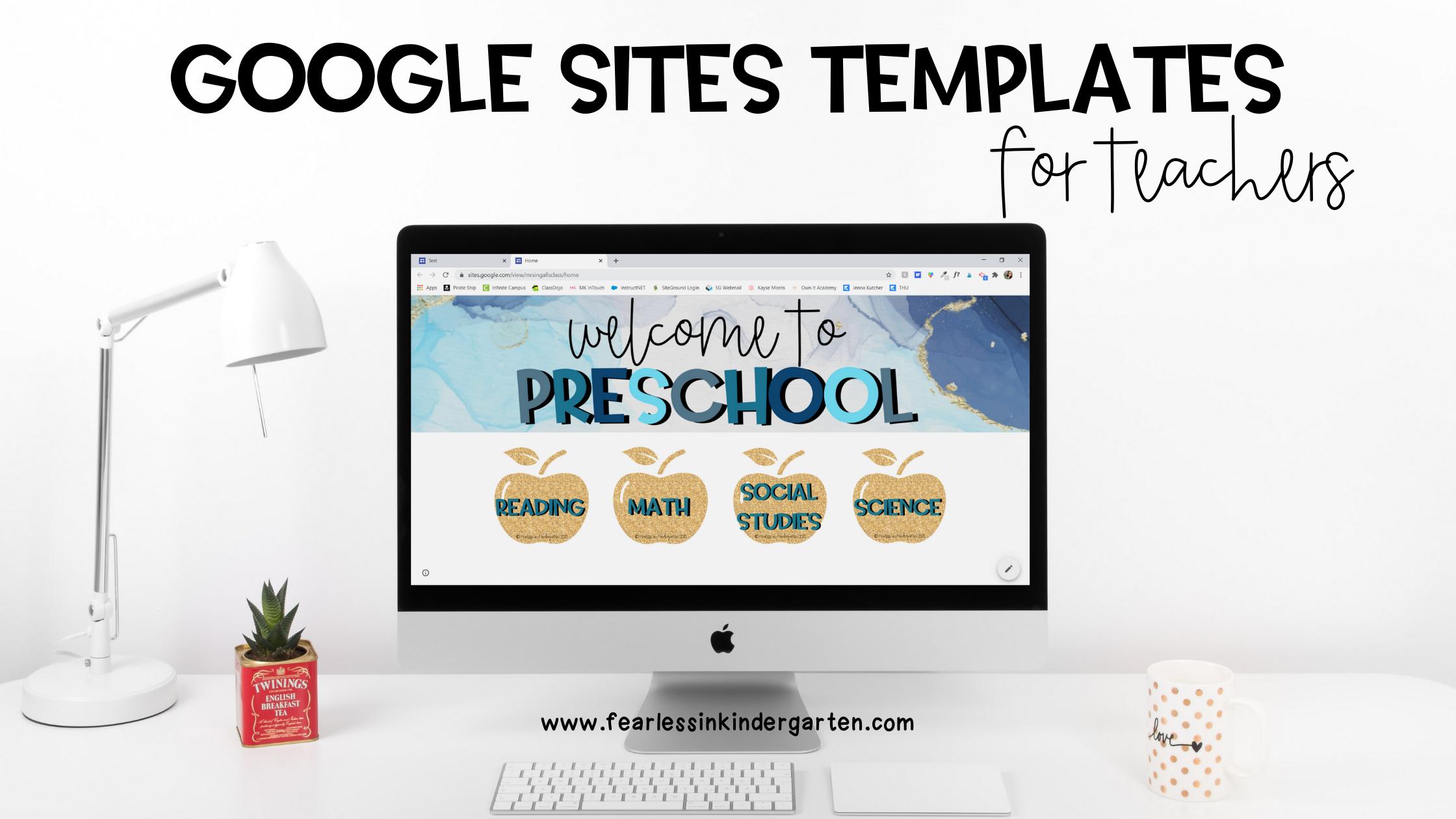 google-sites-templates-for-teachers